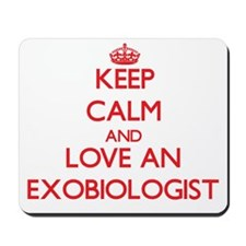 Exobiologist Mousepad