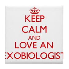 Exobiologist Tile Coaster