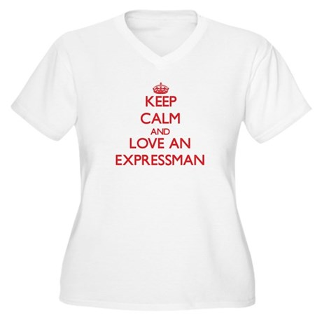 Expressman Plus Size T-Shirt