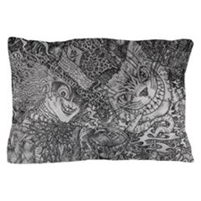 Were All Mad Here Pillow Case