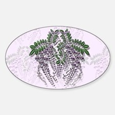 Wisteria Oval Decal