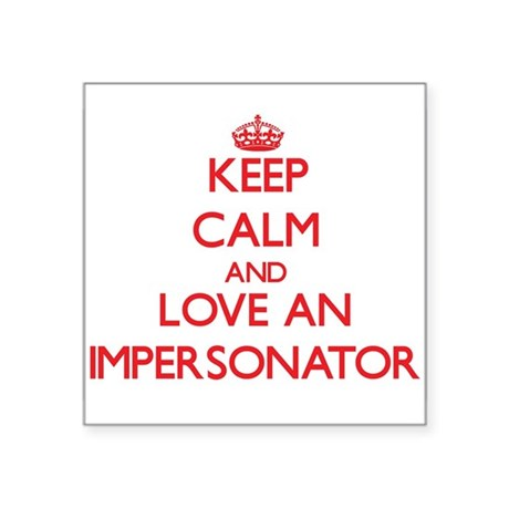 Impersonator Sticker