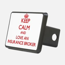 Keep Calm and Love an Insurance Broker Hitch Cover