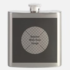 Customizable Black Flask