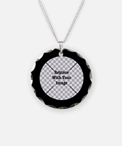 Customizable Black Necklace
