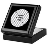 Black Square Keepsake Boxes