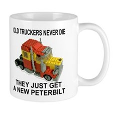 Old Truckers Never Die<BR>Coffee Cup
