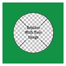 Customizable Green Invitations