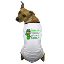 Combat Girl Non-Hodgkin's Lymphoma Dog T-Shirt