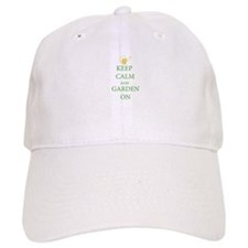 Keep Calm and Garden On Hat