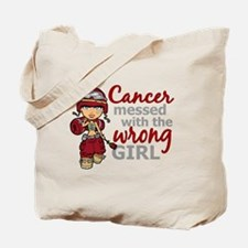 Combat Girl Multiple Myeloma Tote Bag