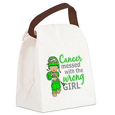 Combat Girl General Lymphoma Canvas Lunch Bag