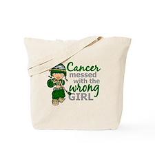Combat Girl Liver Cancer Tote Bag