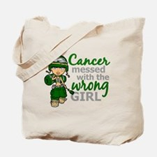 Combat Girl Liver Cancer Tote Bag