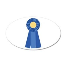 First Place Blue Ribbon Wall Decal
