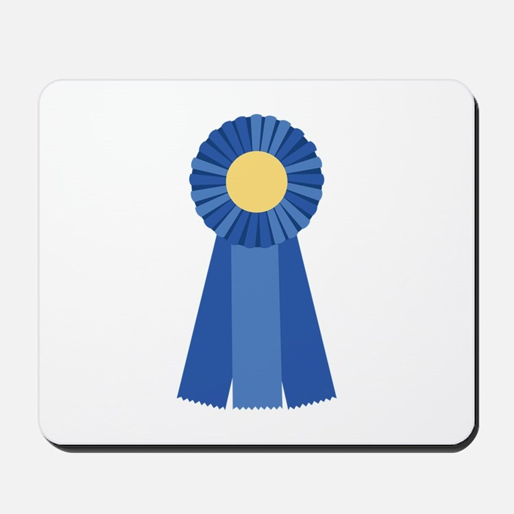 First Place Blue Ribbon Mousepad
