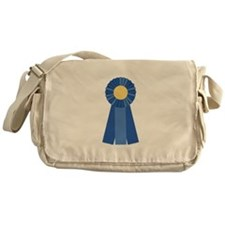 First Place Blue Ribbon Messenger Bag