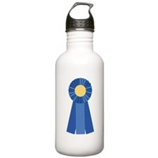 First Place Blue Ribbon Water Bottle