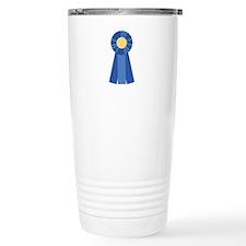 First Place Blue Ribbon Travel Mug