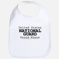 Proud National Guard Niece Bib