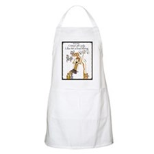 You say crazy cat lady like... Apron