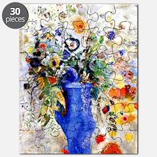 Odilon Redon - Large Bouquet Puzzle