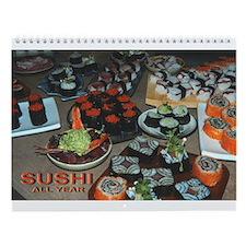 Sushi Lover's Wall Calendar (8.5 x 11)