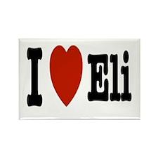 I love Eli Rectangle Magnet