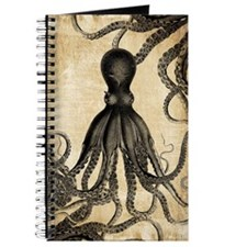 Vintage Octopus Journal