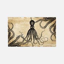 Vintage Octopus 3'x5' Area Rug