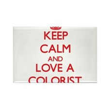 Keep Calm and Love a Colorist Magnets