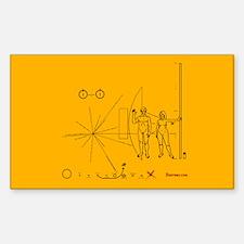 Pioneer Plaque Pluto Fix V4 Decal