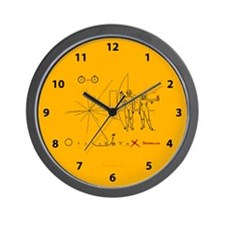 Pioneer Plaque Pluto Fix V3 Wall Clock