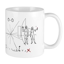 Pioneer Plaque Pluto Fix V3 Mug