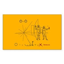 Pioneer Plaque Pluto Fix V3 Decal