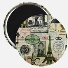 Heather Myers Vintage Everything Paris Magnet