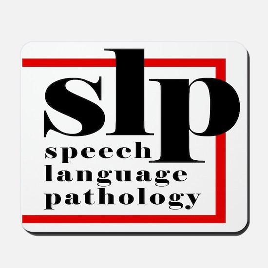 SLP - Speech Language Patholo Mousepad