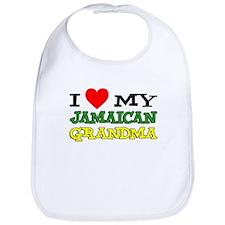 Love My Jamaican Grandma Bib