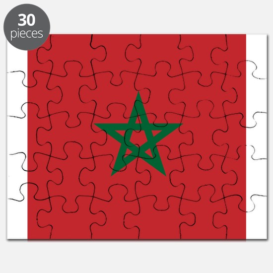 Flag of Morocco Puzzle