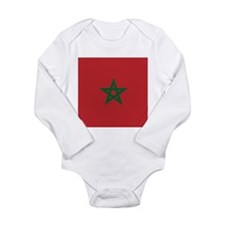Flag of Morocco Body Suit
