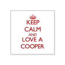 Keep Calm and Love a Cooper Sticker