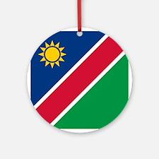 Flag of Namibia Ornament (Round)
