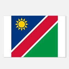Flag of Namibia Postcards (Package of 8)