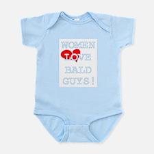 WOMEN LOVE BALD BABY CREEPER Infant Bodysuit