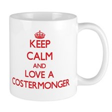 Keep Calm and Love a Costermonger Mugs