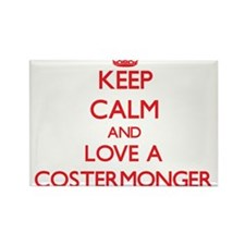 Keep Calm and Love a Costermonger Magnets