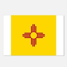 Flag of New Mexico Postcards (Package of 8)