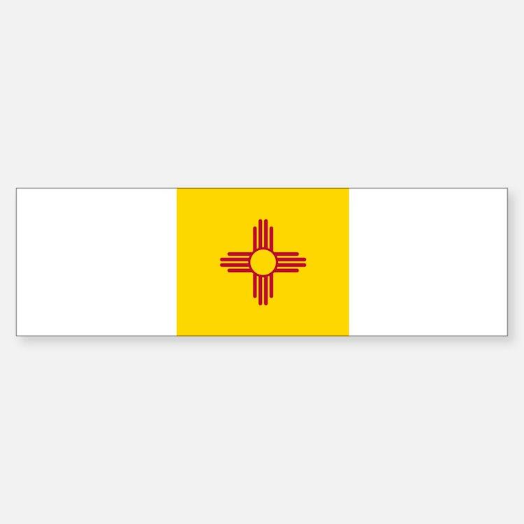 Flag of New Mexico Bumper Bumper Bumper Sticker