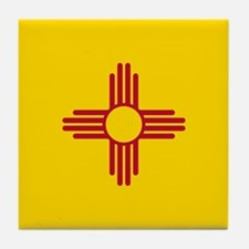 Flag of New Mexico Tile Coaster