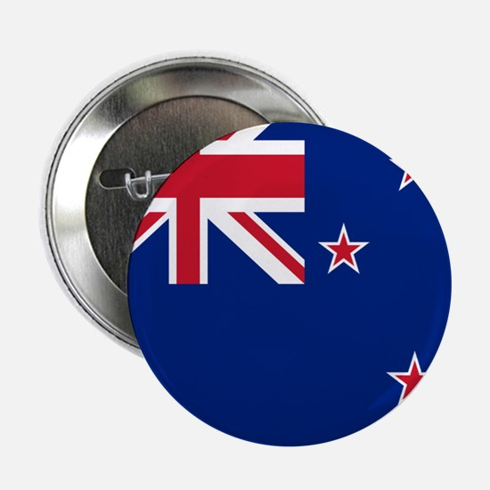 """Flag of New Zealand 2.25"""" Button"""